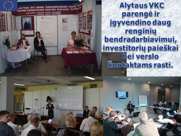 Alytaus verslo konsultacinio centro bendradarbiavimas