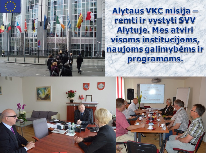 Alytaus VKC misija - remti ir vystyti SVV Alytuje.