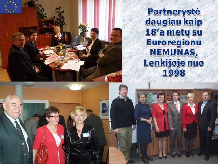 Partnerystė su euroregionu NEMUNAS